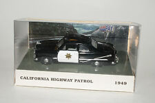 WHITE ROSE COLLECTIBLES, 1949 FORD POLICE CRUISER, CALIFORNIA HWY PATROL, 1:43