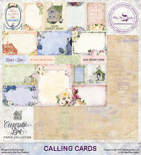 BLUE FERN STUDIOS- COURTSHIP LANE PAPER COLLECTION PACK- 10 SHEETS