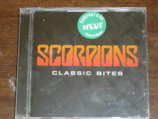 SCORPIONS Classic bites- Best of CD NEUF