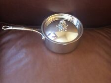 RUFFONI Prima Hammered Stainless Steel 3/4 Qt Butter Warmer Pan NEW in Box