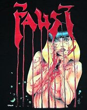 XL * NOS vtg 80s 1988 FAUST comic book t shirt * horror gore * 75.110