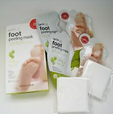 "[THE FACE SHOP] Smile  Foot  Peeling  Sheet  ( 20ml x4ea )  ""Limited Edition"""