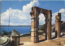 Alte Postkarte - Lago di Garda - Grotte di Catullo
