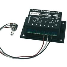 DC Motor Speed Controller Module 9-28V Low Voltage RPM Governor Regulator