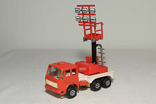 GAMA POLYMA MERCEDES BENZ FIRE ENGINE LIGHT TRUCK NEAR MINT CONDITION