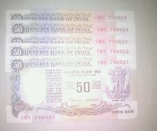 786, holy number rs 50 Parliament issue note in UNC conditions