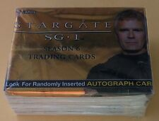 2004 Rittenhouse Archives Stargate Season 6 Trading Card Set