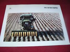 John Deere 7445 Cotton Stripper Dealer's Brochure DKA28 88-12