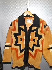 15588/ Vintage Womens SCULLY Leather Western Jacket / Coat ~ Size 12 ~ rodeo