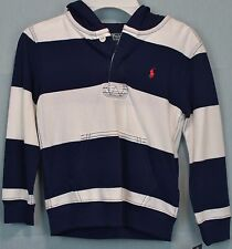Boy's Ralph Lauren Polo Mesh Cotton Hoodie Size 5