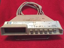 HEWLETT-PACKARD 3476A DIGITAL MULTIMETER WITH POWER CORD