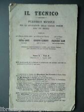 Tecnico Piroscafi Ruote Elica Macchine a vapore Siemens Freno Vapore Ferrate1857