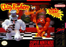 Clayfighter SNES Great Condition Fast Shipping