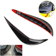 1 Pair Rubber Universal Car Auto Vehicle Front Bumper Corner Protector Lip Guard