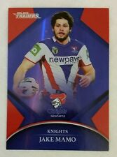 2016 NRL Traders Parallel P073 - Jake Mamo Newcastle Knights