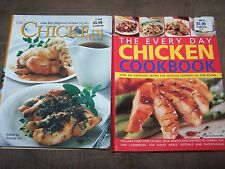 Set of 2 Chicken Cookbooks in Great Shape, MSRP $37.98 765 recipes!!with picture