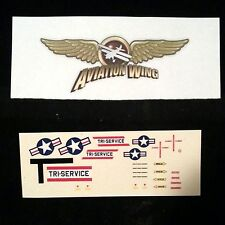1/48 North American OV-10A Bronco USAF Triservice Decals For Hawk Kit