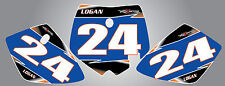 KTM 50 Custom Number Plate graphics  2002 -2008 / decals stickers