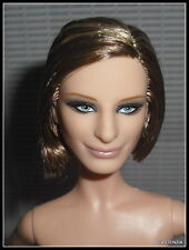 NUDE BARBIE BRUNETTE BLOND BLUE EYES BARBRA STREISAND CELEBRITY DOLL FOR OOAK