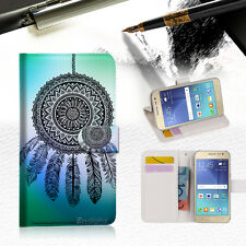 Dream Catcher Wallet Case Cover For Samsung Galaxy J5 Prime- A026