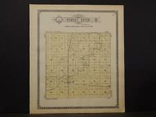 North Dakota, Walsh County Map, Forest River Township 1910 K9#92
