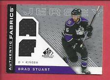 07-08 SP Game Used Brad Stuart Authentic Fabrics Dual Jersey