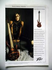 PUBLICITE-ADVERTISING :  Guitares Basses PEAVEY Millenium 4 et 5  05/2002