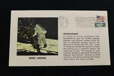 SPACE COVER 1971 MACHINE CANCEL APOLLO 14 MOON LANDING FRA MAURO (1360)