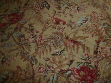 "Cotton Fabric Windham Anna Griffin Sigourney Collection 26119 Birds Floral 23"" +"