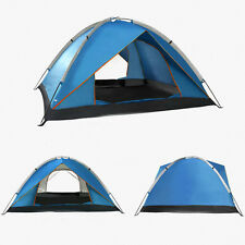 3-4 Person Outdoor Camping Hiking Waterproof Folding Tent Backpacking Shelter B2
