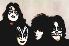 KISS Classic Rock Star Band Poster 24x36