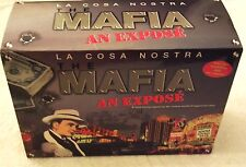 La Cosa Nostra: The Mafia - An Expose 10-Pack VHS Tape Gangster Box Set 1997