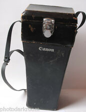 """Canon 14"""" Hard Case for Long Lens ~4x6x14"""" Outer Dimensions - VINTAGE - F06"""