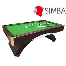 7 Ft green Cloth Pool Table Billiard Playing Indoor Sports billiards table Annib