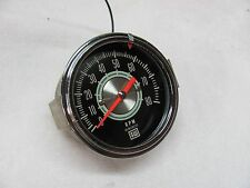 Vintage Stewart Warner Green Line Electric Tachometer model 960AA 3 3/8 mounting
