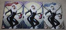 AMAZING SPIDER-MAN 25 ARTGERM BLACK CAT VIRGIN COPIC BUNDLE VARIANT 3-PACK HOT!