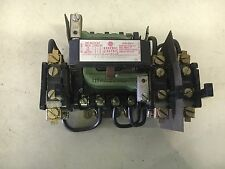 GE CR106B000XDA1 USED SIZE 0 STARTER 3P 120V COIL SEE PICTURES #B53