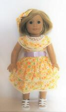 """Doll Clothes AG 18"""" Dress Kits Summer Dress Made To Fit American Girl Dolls"""