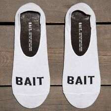 BAIT Logo Low Cut Invisible Socks white