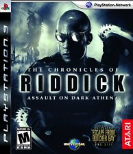 Riddick: Assault on Dark Athena PS3 New Playstation 3