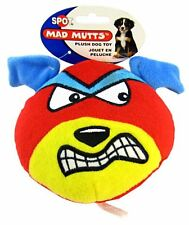 """Spot Plush Squeaky Dog Puppy Play Toy - Angry Bird Style Mad Mutts Size:  4.5"""""""