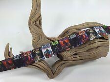 """BTY 7/8"""" Star Wars Movie Posters Printed Grosgrain Ribbon Hair Bows Lisa"""