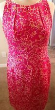 Taylor Size 8 Pink And Orange Dress