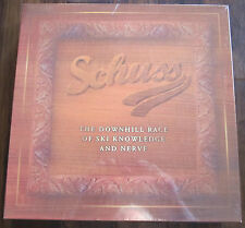 SCHUSS BOARD GAME ( DOWNHILL RACE OF SKI KNOWLEDGE & NERVE ) BRAND NEW & SEALED!