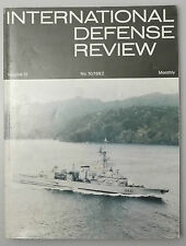 (PRL) INTERNATIONAL DEFENSE REVIEW MONTHLY 10/1982 INTERAVIA PUBLICATION