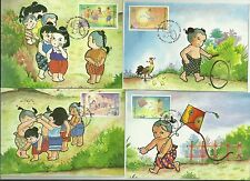 THAILAND- YOUTH- ORIENTED FD CARDS / UNLISTED UNEXPLODED BOOKLET