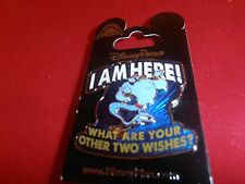 """1 Disney Pin Aladdin 3D Genie """"I am here, what are... - New on Card As Seen lotR"""
