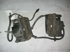 92-96 Honda Prelude OEM front brake calipers with brackets Si with ABS