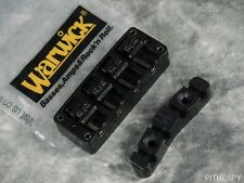 NEW WARWICK 4 STRING BASS BRIDGE TAILPIECE BLACK THUMB CORVETTE STREAMER KATANA