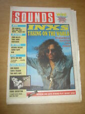 SOUNDS 1988 NOVEMBER 12 INXS BIG COUNTRY IRON MAIDEN FRANK SIDEBOTTOM